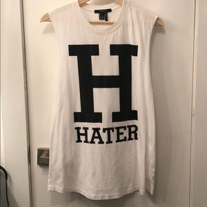 """""""Hater"""" Muscle Tee"""